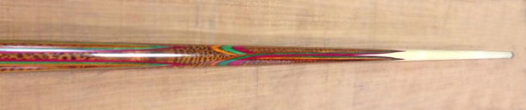 Купить кий для русского бильярда: змеиное дерево / крашенный граб; цветок восьмилучевой – поповский кий Виктора Бойко