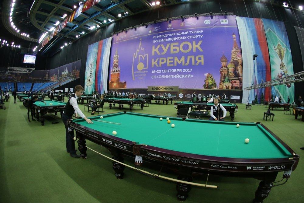 Кубок кремля бильярдные столы для русского бильярда Dynamic