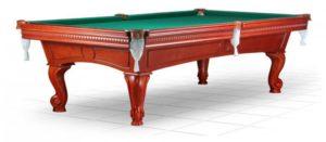 бильярдный стол для русского бильярда «Cambridge» 8 ф (корица)