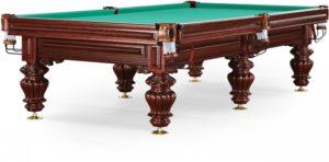 бильярдный стол для русского бильярда «Turin» 9 ф (вишня)