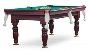 бильярдный стол для русского бильярда «Дебют» 8 ф (махагон)