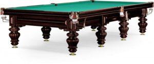 бильярдный стол для русского бильярда «Turin» 12 ф (черный орех)