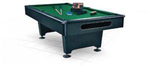 Бильярдный стол для пула «Eliminator» 8 ф (черный)