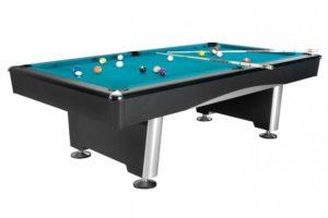 Бильярдный стол для пула «Dynamic Triumph» 8 ф (черный)