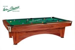 Бильярдный стол для пула «Dynamic III» 7 ф (коричневый)