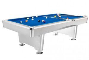 Бильярдный стол для пула «Dynamic Triumph» 8 ф (матово-белый)