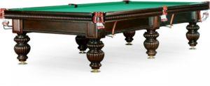 Бильярдный стол для русского бильярда «Tower» 10 ф (махагон)