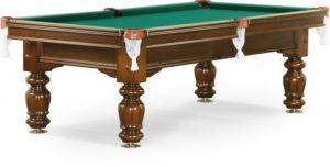 стол для русского бильярда «Classic II» 9 ф (орех)