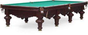 Стол для русского бильярда «Rococo» 12 ф (махагон)