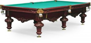 стол для русского бильярда «Rococo» 10 ф (махагон)