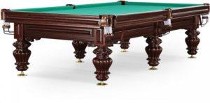 стол для русского бильярда «Turin» 10 ф (махагон)