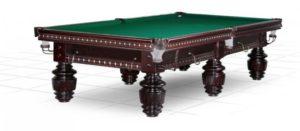 стол для русского бильярда «Dynamic Turnus II» 10 ф (махагон)
