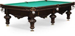 стол для русского бильярда «Rococo» 10 ф (черный орех)