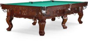 стол для русского бильярда «Gogard» 10 ф (черный орех)