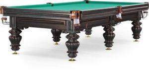 стол для русского бильярда «Turin» 10 ф (черный орех)