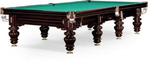 стол для русского бильярда «Turin» 11 ф (черный орех)