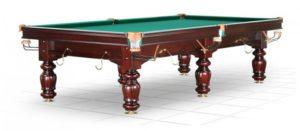 стол для русского бильярда «Classic II» 9 ф махагон