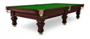 стол для русского бильярда «Hardy» 10 ф (черный орех)