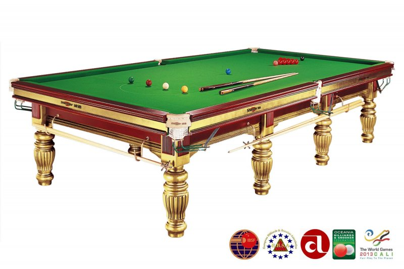 Бильярдный стол для снукера «Dynamic Prince» 12 ф (золотистый)