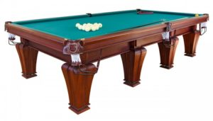 стол для русского бильярда «Палисандр» 11 ф (ясень)