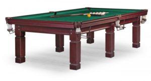 стол для русского бильярда «Texas» 9 ф (махагон)
