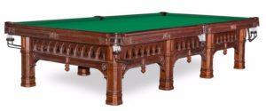 стол для русского бильярда «Gothic» 10 ф (6 ног)
