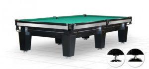 стол для русского бильярда «Magnum» 10 ф (черный)