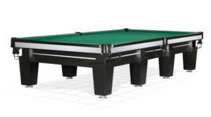 стол для русского бильярда «Magnum» 11 ф (черный, 8 ног)