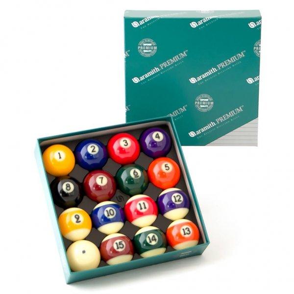 Купить комплект шаров 57.2 мм «Aramith Premium»