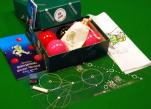 Купить комплект шаров Три игры в одной коробке