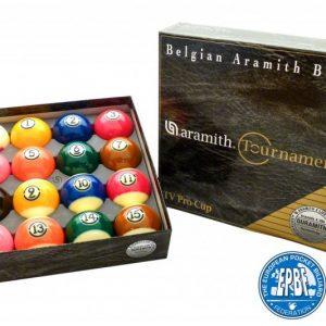 Купить комплект шаров 57.2 мм «Aramith Tournament Pro Cup TV»