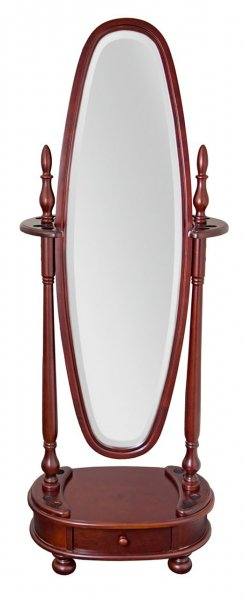 Киевница с зеркалом для 8 киев «Dublin» (махагон)
