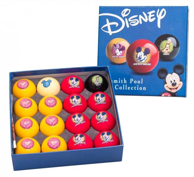 Комплект шаров 57.2 мм «Aramith Disney»