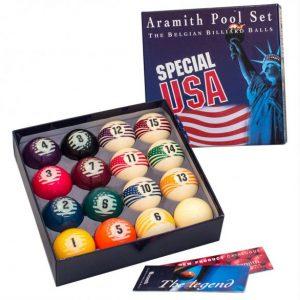 Купить комплект шаров 57.2 мм «Aramith Special USA»