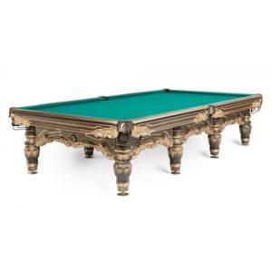 Бильярдный стол для русского бильярда Император Голд 12 ф