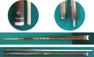 Купить кий для русского бильярда: змеиное дерево / ясень; классика