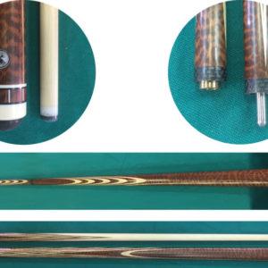 Купить кий для русского бильярда: змеиное дерево / ясень; классика от Тенгиза Ачбы