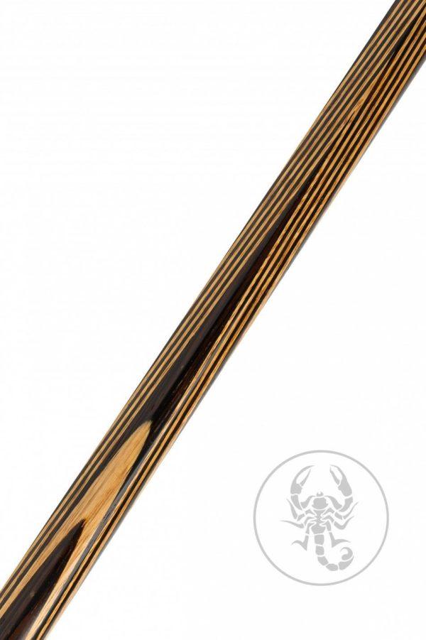 Купить кий для русского бильярда 2ч Классика ВенгеЛимонник удлинитель 16 длинных тонких запилов