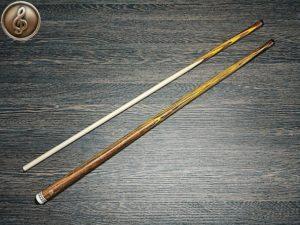 Кий для русского бильярда: палисандр, желтый граб