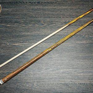 Купить кий для русского бильярда: палисандр, желтый граб; Классика, 15 запилов от Алексея Вараксина