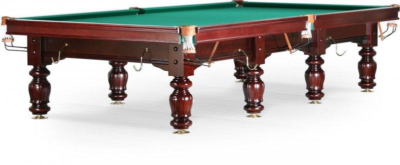 Бильярдный стол для снукера «Classic II» 12 ф (махагон)