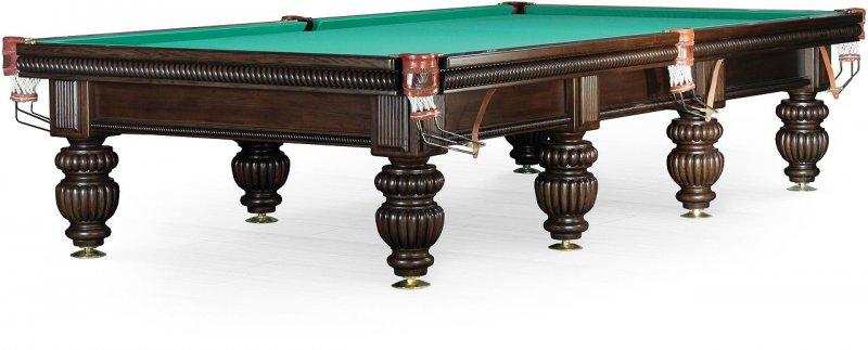 Бильярдный стол для снукера «Tower» 12 ф (черный орех)